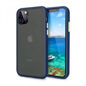 Blue Case With Green Key - Premium PolyChromatic Shockproof Case