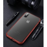 Red Case with Black Key Premium PolyChromatic Shockproof Case