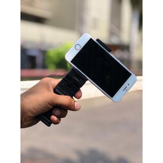 Multi Function Mobile Holder Ultra Slim Pocket Stand 360 Degree Rotation