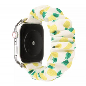 iWatch Strap For Girls Pineapple Pattern Compatible with Apple Watch Series Se/6/5/4/3/2/1