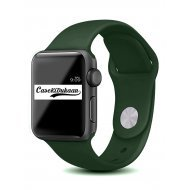 Forest Green Silicone Strap Compatible with Watch Series Se/6/5/4/3/2/1