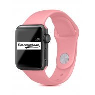 Rose Mist iWatch Silicone Strap Compatible with Watch Series Se/6/5/4/3/2/1