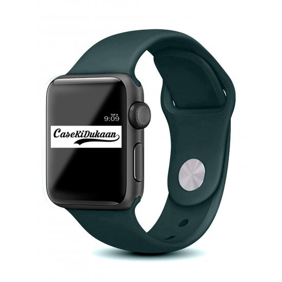 Russian Blue iWatch Silicone Strap Compatible with Watch Series Se/6/5/4/3/2/1