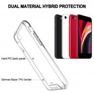 Hybrid Transparent Premium Case : Drop Protection With Smooth Button Technology