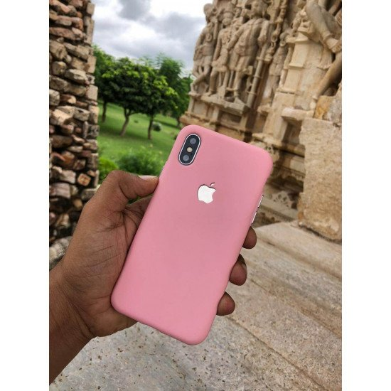 Angel Pink Soft Logo Cut For iPhone