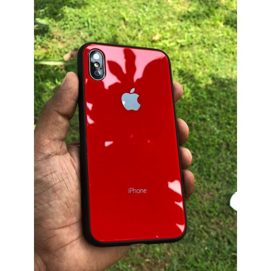 Volcanic Red MyCase SemiSoft For iPhone