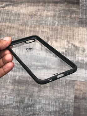 Transparent Black Bumper Case