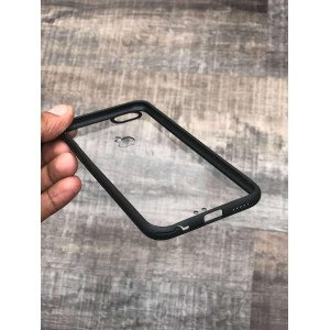 Transparent Black Bumper Case