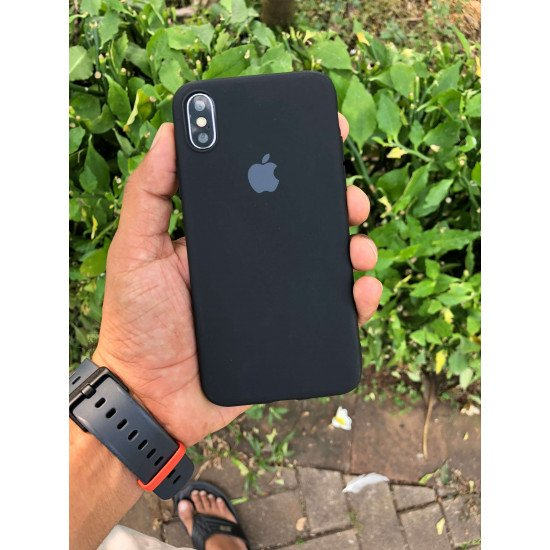 Rich Black Iphone Soft Case