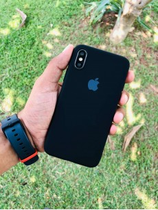 Rich Black Iphone Soft Case