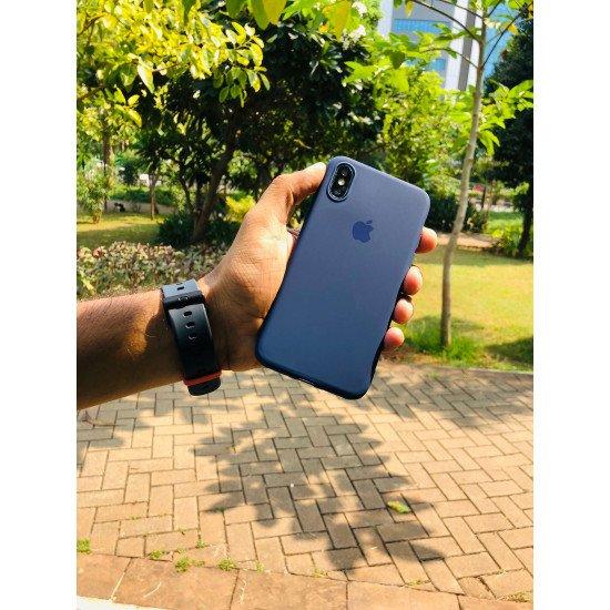 Sapphire Salute Blue iPhone Soft Case
