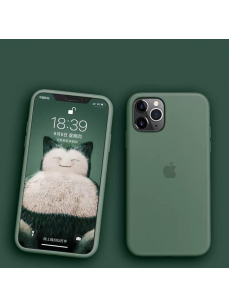 Midnight Green Silicon Case For iPhone