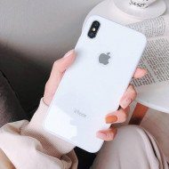 White Dove Mirror Finish Glass Case For IPhone