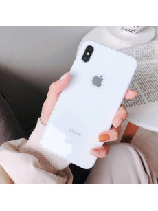 White Dove Mirror Finish Glass Case For IPhone