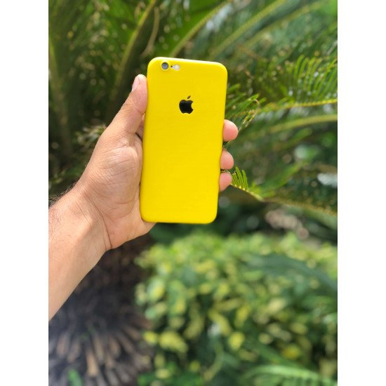 True Yellow iPhone Ultra Thin Case