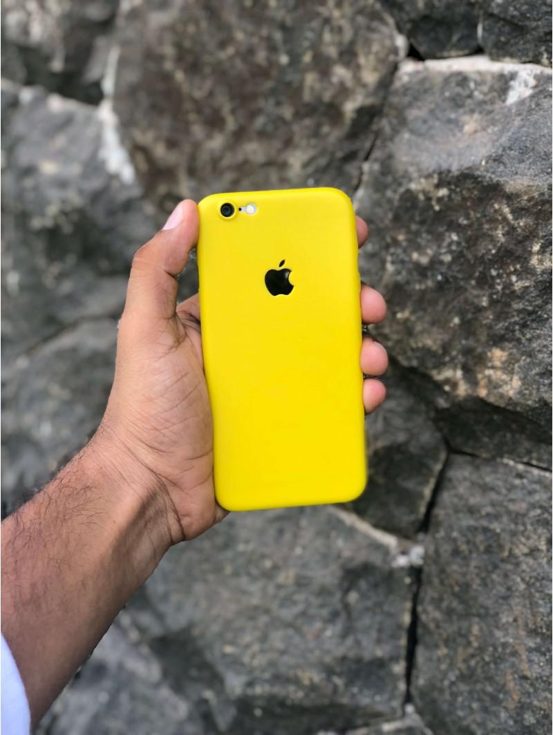 True Yellow iPhone Ultra Thin Case