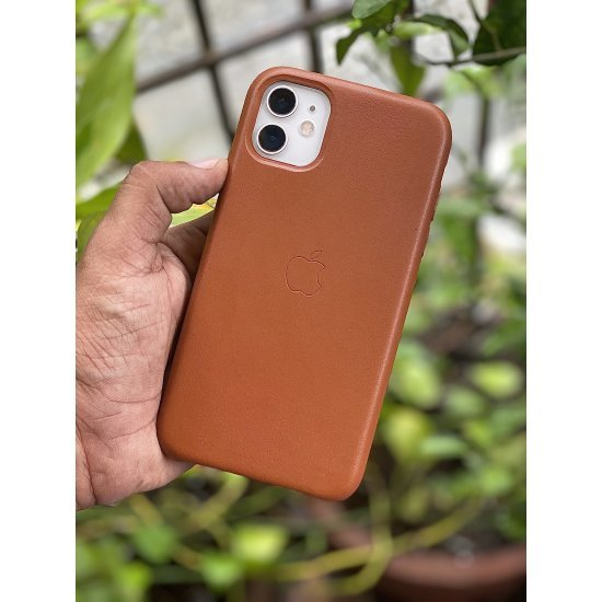 Brown Leather Case For iPhone