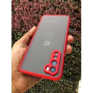 One Plus Nord Shockproof Case Cover Red