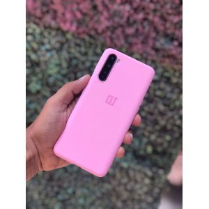 OnePlus Nord Soft Case Cover Pink