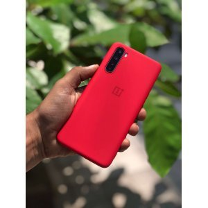 OnePlus Nord Soft Case Cover Red
