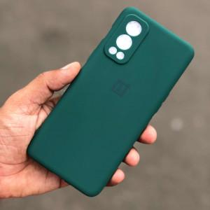 OnePlus Nord 2 Soft Case Cover Juniper Green