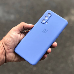 OnePlus Nord CE Soft Case Cover Cornflower Blue