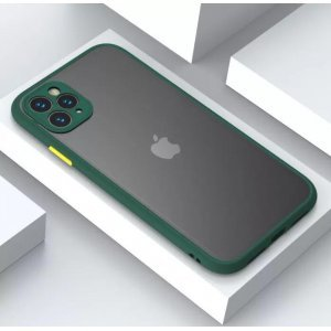 Shockproof Dark Green Case For 11 Pro Max - 11 Pro - 11