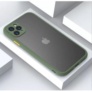 Shockproof Light Green Case For 11 Pro Max - 11 Pro - 11