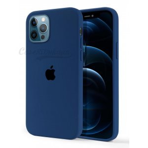 Olympic Blue Silicone Case For iPhone 12 Series
