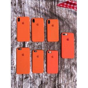 Nova Orange Silicon Case For iPhone