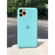 Bluish Green Silicon Case For iPhone