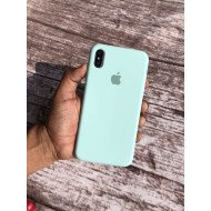 Aqua Green Silicon Case For iPhone