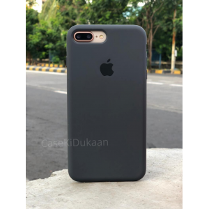 Dark Grey Silicon Case For iPhone