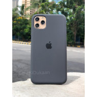 Dark Grey Silicon Case For iPhone