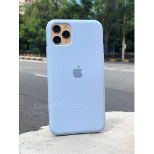 Light Blue Silicon Case For iPhone