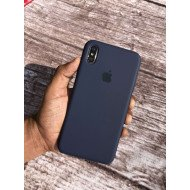 Navy Blue Silicon Case For iPhone