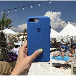 Olympic Blue Silicon Case For iPhone