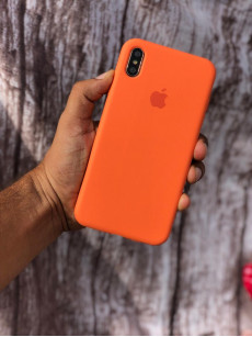 Nova Orange Silicon Case For iPhone