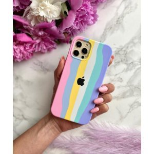 Pride Edition Pink Rainbow Unicorn Silicon Case For iPhone