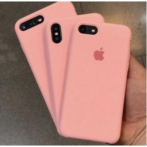 Rose Mist Silicon Case For iPhone