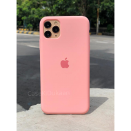 Light Pink Silicon Case For iPhone
