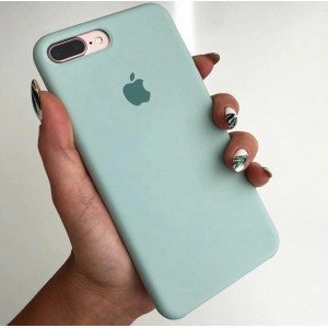 Aqua Green Silicon Case For iPhone