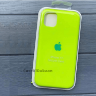 Sports Green Silicon Case For iPhone