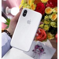 Pure White Silicon Case For iPhone