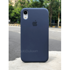 Dark Blue Silicon Case For iPhone