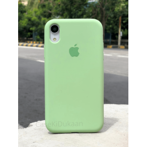 Mint Green Silicon Case For iPhone
