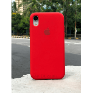 Red Silicon Case For iPhone