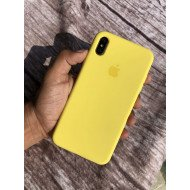 Summer Yellow Silicon Case For iPhone