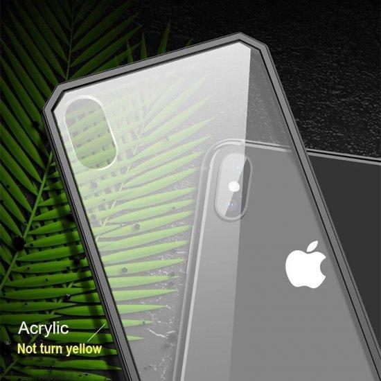 Black Bumper Shockproof Case For iPhone