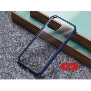 Dark Blue Bumper Shockproof Case For iPhone